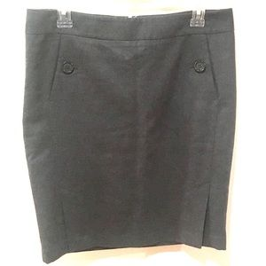 The Limited Wool Pencil Skirt
